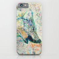 iPhone & iPod Case featuring Energetic Howling Wolf by Elias Zacarias