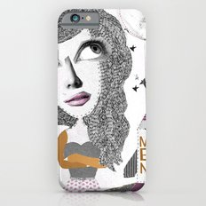 If we can put one man on the moon... why not them all? iPhone 6 Slim Case