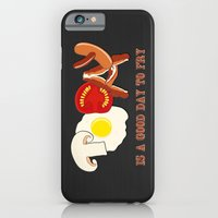 iPhone & iPod Case featuring Today is a good day to fry by Emma Harckham