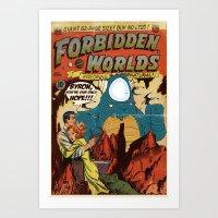 Forbidden Worlds Art Print