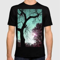 Wishing Tree Black SMALL Mens Fitted Tee