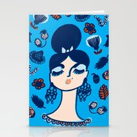 Diamonds And Pearls In Y… Stationery Cards