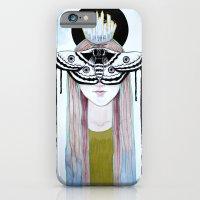 moth queen iPhone 6 Slim Case