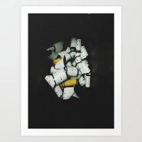 120 Backing Art Print