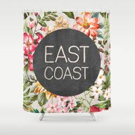 East Coast Shower Curtain