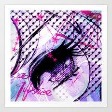 LIBRA:EYE Art Print