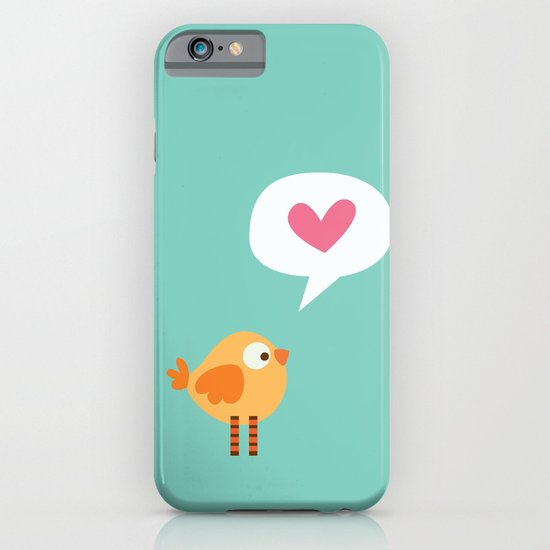 Love Birdie iPhone & iPod Case