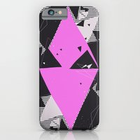 iPhone & iPod Case featuring Exploding Triangles//Eight by Party in the Mountains