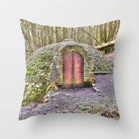 Ice House  Throw Pillow
