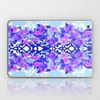 Baroque Blue Laptop & iPad Skin