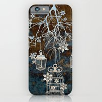 iPhone & iPod Case featuring Bird Cage Chandelier by Vivian Lau