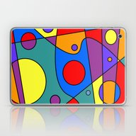 Abstract #71 Solar Syste… Laptop & iPad Skin