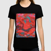 Sauce Lord Womens Fitted Tee Black SMALL