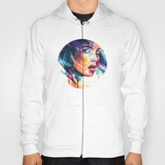 sheets of colored glass Hoody