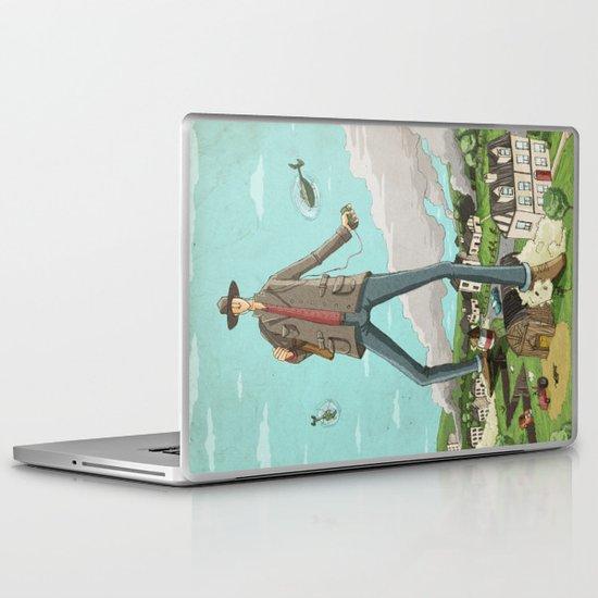 Tall Laptop & iPad Skin