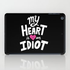 My Heart Is An Idiot iPad Case