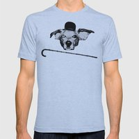 THE BUDDIE x CHARLIE CHAPLIN Mens Fitted Tee Athletic Blue SMALL