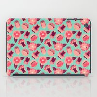 Flat Flowers - Pattern iPad Case