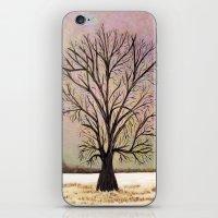 Winter morning iPhone & iPod Skin