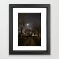 Into The Moonlight Framed Art Print