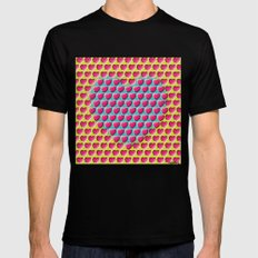 E-MOTION: Moving hearts SMALL Black Mens Fitted Tee