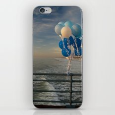 Santa Monica pier 4 iPhone & iPod Skin