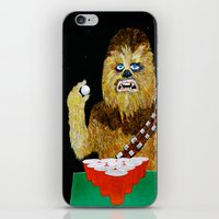 BEER PONG WOOKIE iPhone & iPod Skin