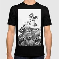 Apollonia Saintclair 606… Mens Fitted Tee Black SMALL
