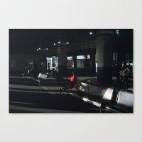 Red Coat Canvas Print