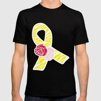 Endometriosis Awareness … Mens Fitted Tee Black SMALL