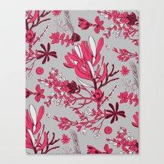 Fuchsia Cradle Flora Canvas Print