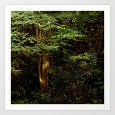 Tree and Green Art Print