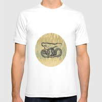 Python ~ The Summer Series Mens Fitted Tee White SMALL