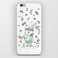Summer Bunny iPhone & iPod Skin