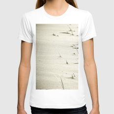 Overrun Womens Fitted Tee White SMALL