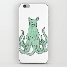 Octobear iPhone & iPod Skin