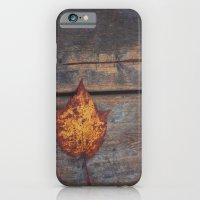 vintage leaf. iPhone 6 Slim Case