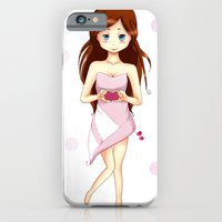 iPhone & iPod Case featuring Valentine by DyaniArt