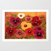 Colors of summer Art Print