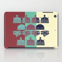 Robots don't like stairs (R2D2, Johnny 5 & The Dalek) iPad Case