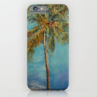 iPhone & iPod Case featuring Palm Tree by Michael Creese