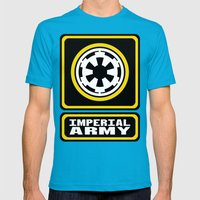 Imperial Army Mens Fitted Tee Teal SMALL