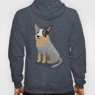 Cattle Dog - Cute Dog Se… Hoody