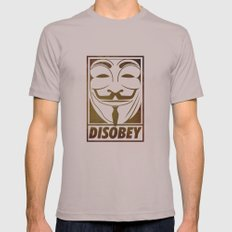 Disobey Mens Fitted Tee Cinder SMALL