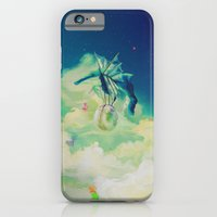iPhone & iPod Case featuring Lunar Thief by ChrisRIllustrations
