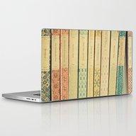 Old Books Laptop & iPad Skin