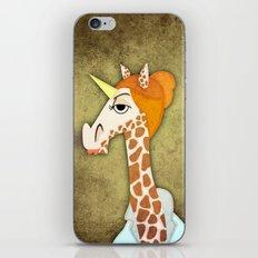 Girafficorn iPhone & iPod Skin