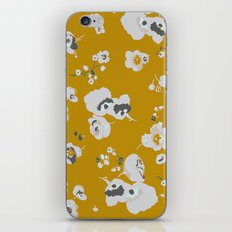 mustard poppies iPhone & iPod Skin