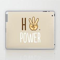 HiiiPower (w/text) : Pale Laptop & iPad Skin