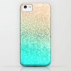 GOLD AQUA iPhone 5c Slim Case